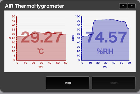 AIR ThermoHygrometer