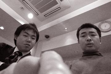 taiga & arkw 勉強会後の反省会@新宿の某寿司店